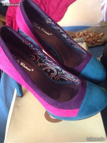 Chaussures du soirée multi couleur 15 Ivry-sur-Seine (94)
