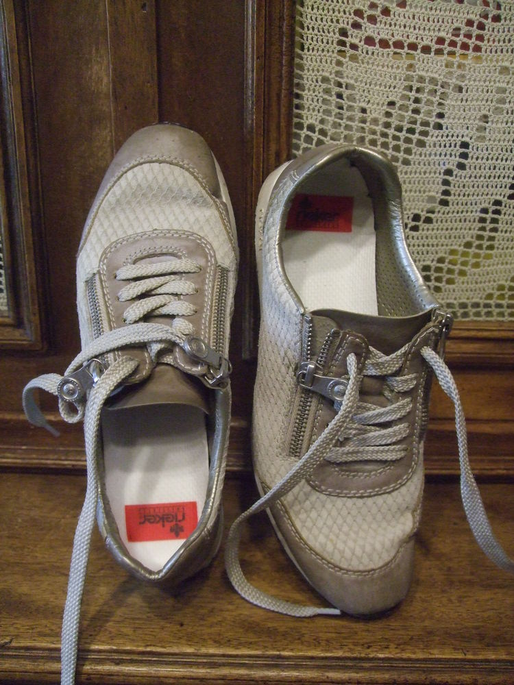Chaussures sport  pour dame. Rieker. P 38. 10 Sablet (84)