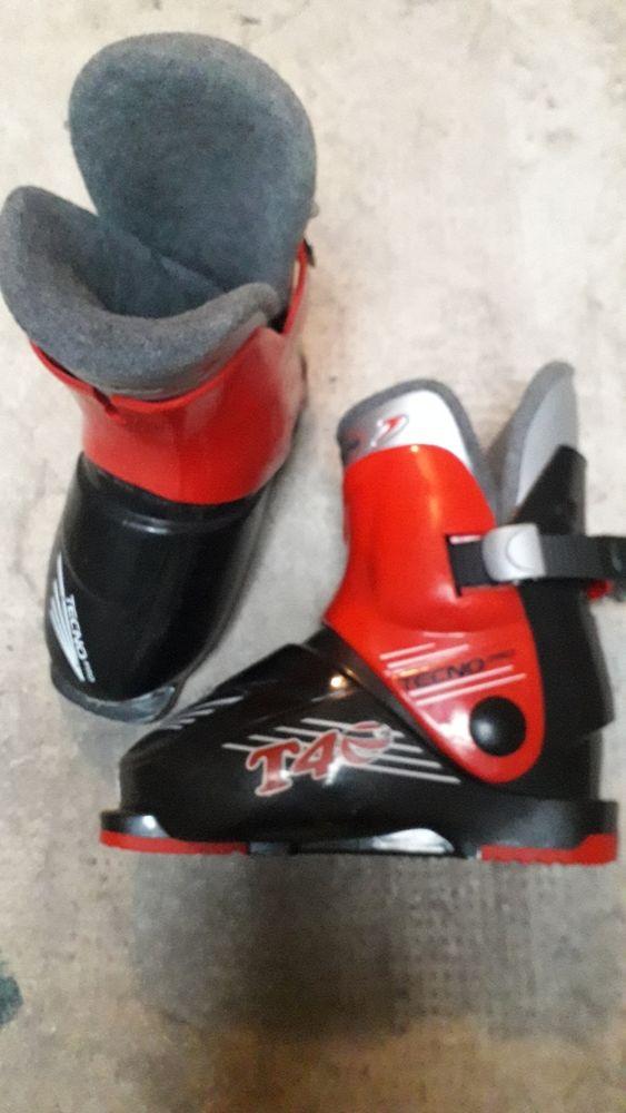 Chaussures de Flo taille 28 et ski 110cm avec baton 50 Marseille 8 (13)