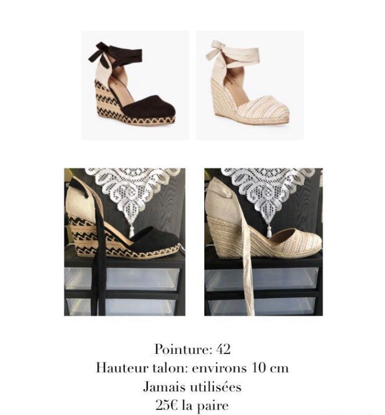 Chaussures à talons compensés 25 Baie-Mahault (97)