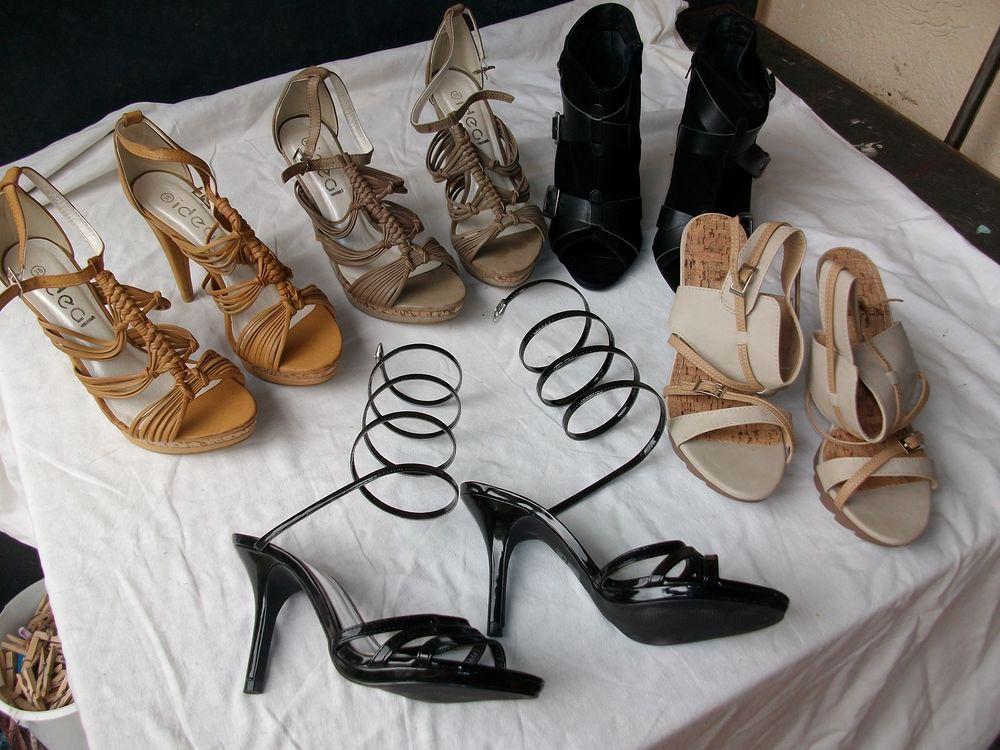 Chaussures d'été à talons pointure 38-neuves 2 Bouxwiller (67)