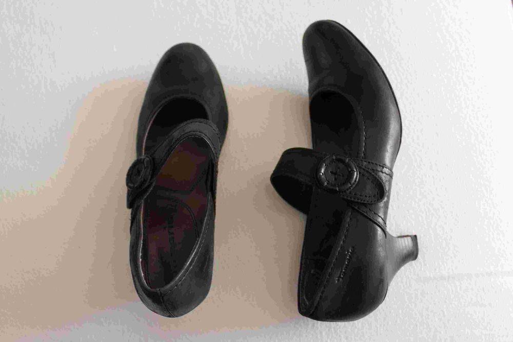 chaussures tamaris en cuir noir P:41 pour femme 0 Créteil (94)