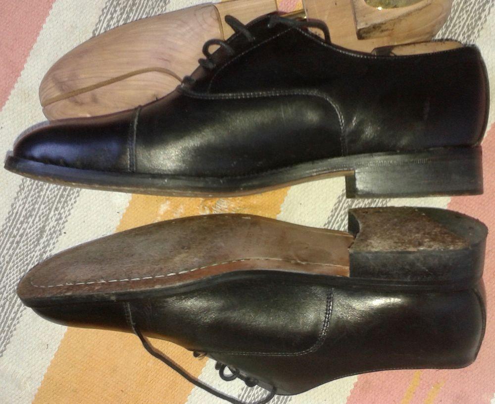 Chaussures tout cuir véritable British shoes H 43