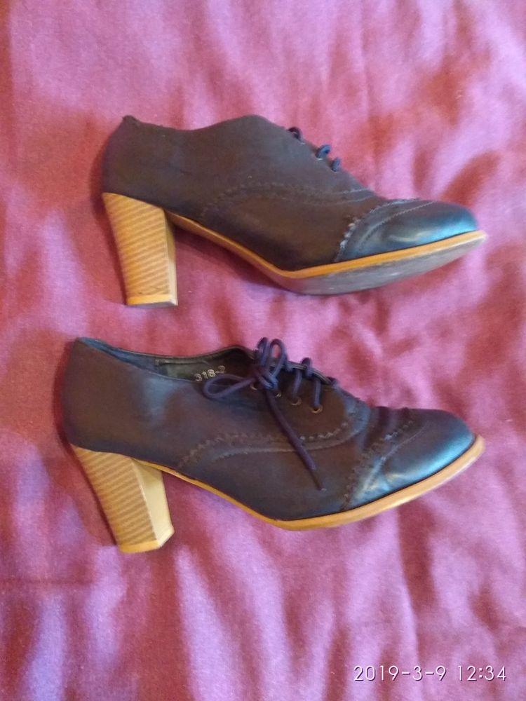 Chaussures type mocassins à talon  8 Ivry-sur-Seine (94)