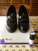 Chaussures Vernis noir 37 mode accessoire déco tenue soirée  89 Fèves (57)