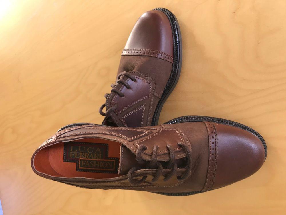 Chaussures de ville homme neuves en cuir marron pointure 42  40 Asnières-sur-Seine (92)