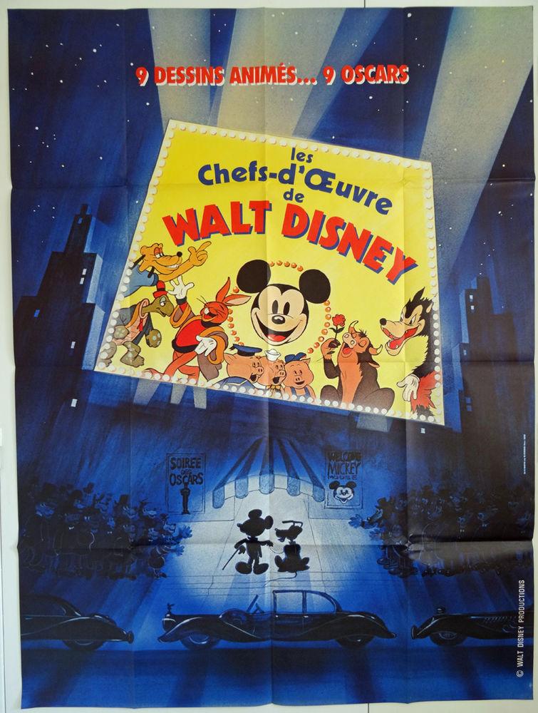 Les Chefs d'Oeuvre de Walt Disney Affiche de cinéma 120x160 75 Maisons-Alfort (94)