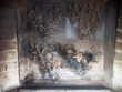 cheminée D'angle Philippe, habillage métal et marbre. 700 Morlaix (29)
