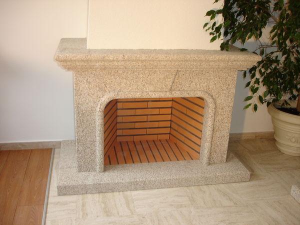 cheminee pierre granit  1650 Annecy (74)