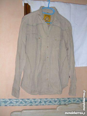 chemise beige manche longue 4 Isbergues (62)