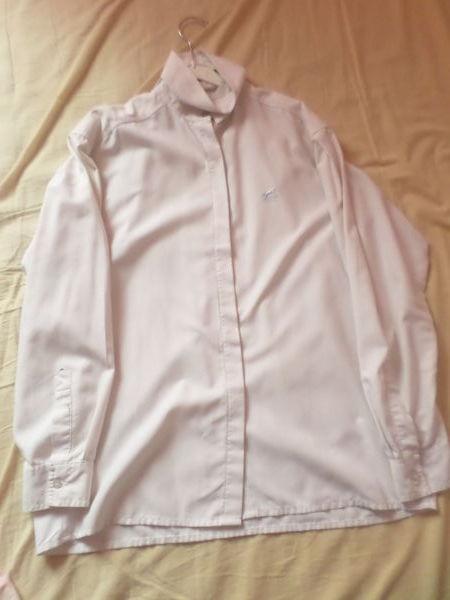 Chemise blanche de concours d'équitation Hervé godignon  0 Ardoix (07)