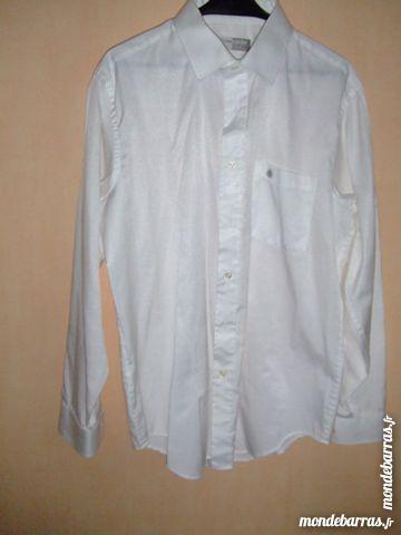 chemise blanche manche longue 2 Isbergues (62)