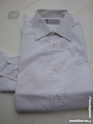 Chemise blanche à manches longues( homme) 4 Nîmes (30)