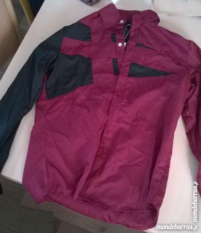 chemise bordereau et motif noir 20 Enval (63)