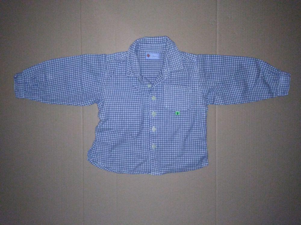 Chemise carreaux flanelle DPAM 12 mois 5 Semoy (45)