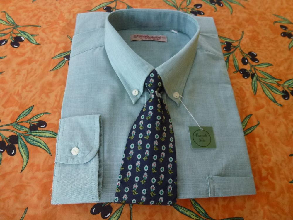 chemise et cravate soie 15 Toussus-le-Noble (78)