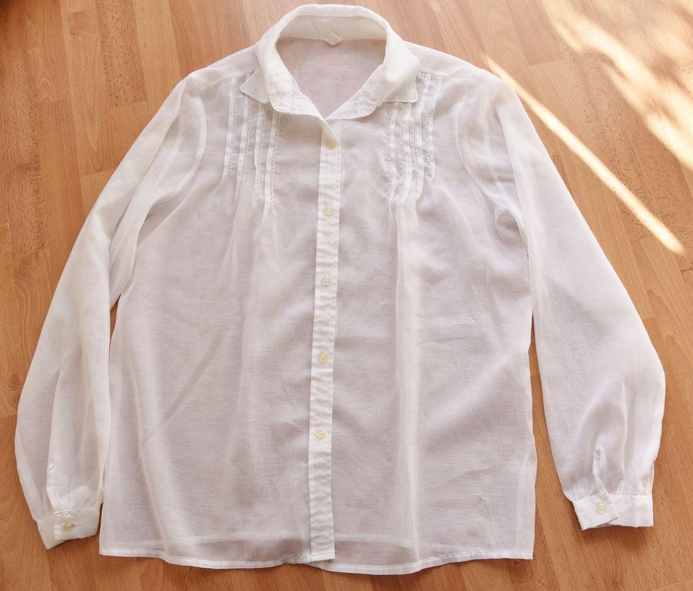 Chemise fine blanche. Taille 42. Très bon état.  5 Gujan-Mestras (33)
