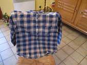 Chemise garçon molletonnée coloris écossaise 0 Mérignies (59)