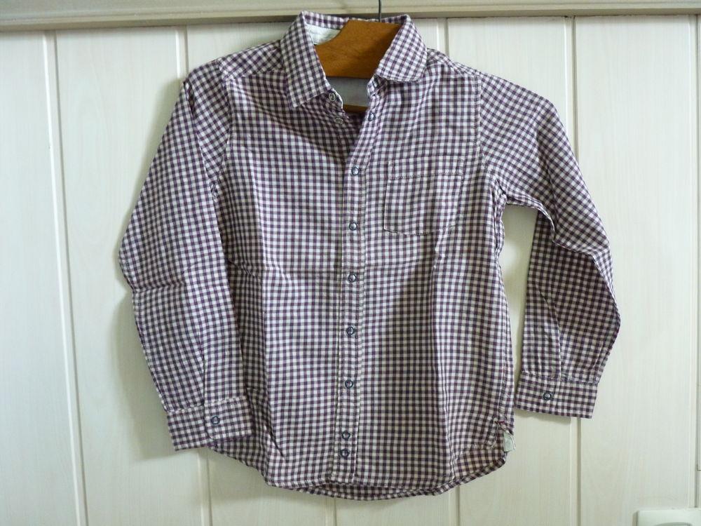 chemise jacadi carreaux 6/7 ans TBE garçon 20 Brienne-le-Château (10)