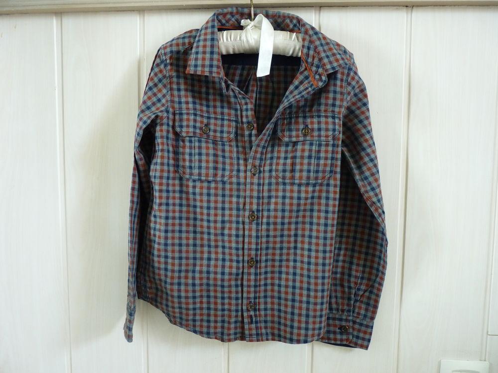 chemise jacadi garçon 8 ans TBE carreaux 20 Brienne-le-Château (10)