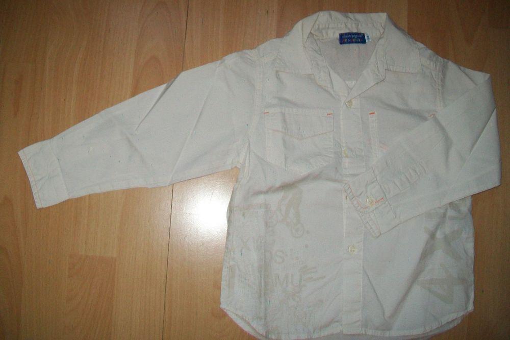 chemise manche longue beige la compagnie des petits 5 ans 4 Jouy-le-Moutier (95)