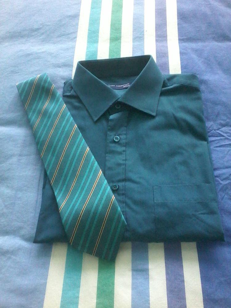 Chemise de marque tom hagan avec cravate ou unité  25 Tourcoing (59)