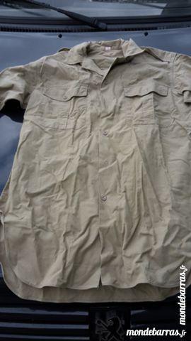 chemise militaire coton 5 Amiens (80)
