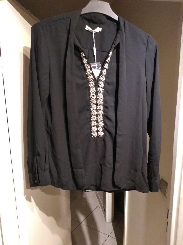 chemise de soirée femme neuve couleur noir taille 38 15 Saint-Denis (97)