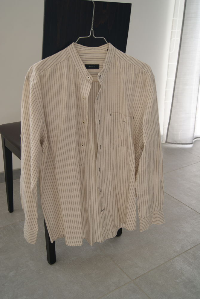 Chemise col Mao 40 Oudon (44)