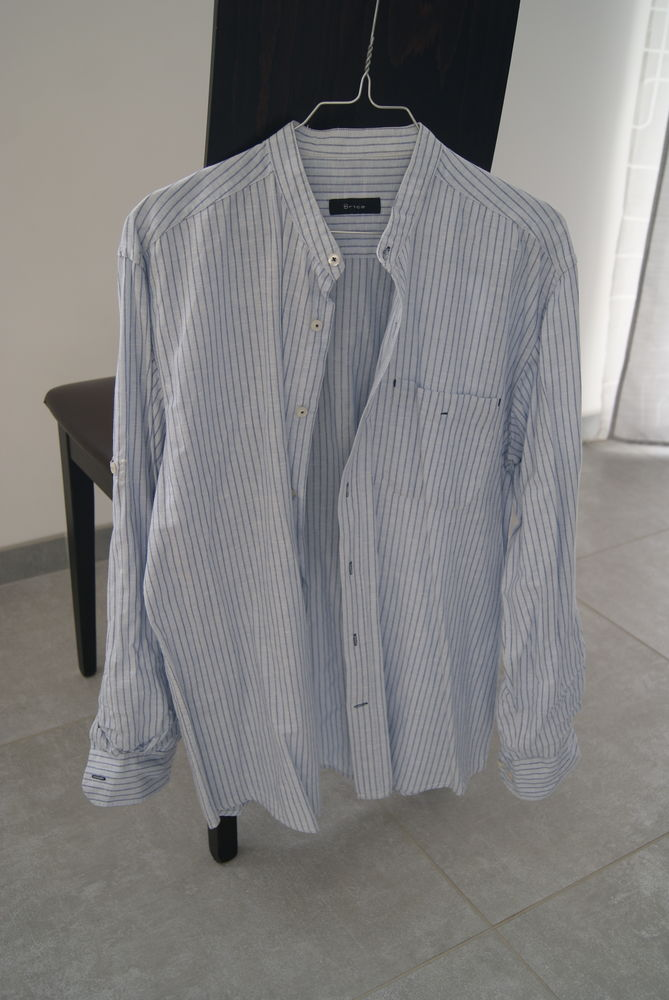 Chemise col Mao 5 Oudon (44)