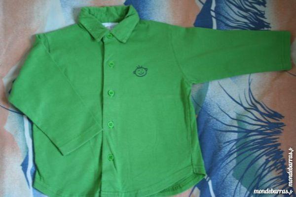 Lot Chemises Babymini Kiabi 2 ans Garçon MIROTON 2 Tournefeuille (31)