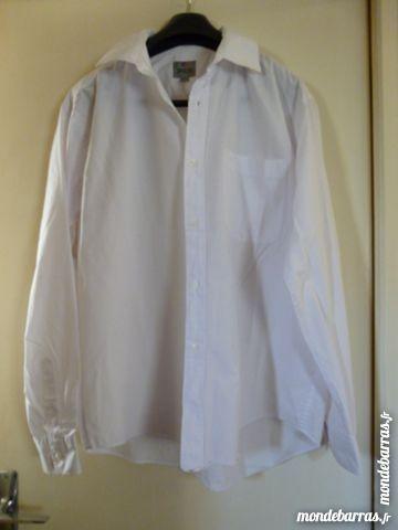 Chemises blanches «Brice» 6 Goussainville (95)