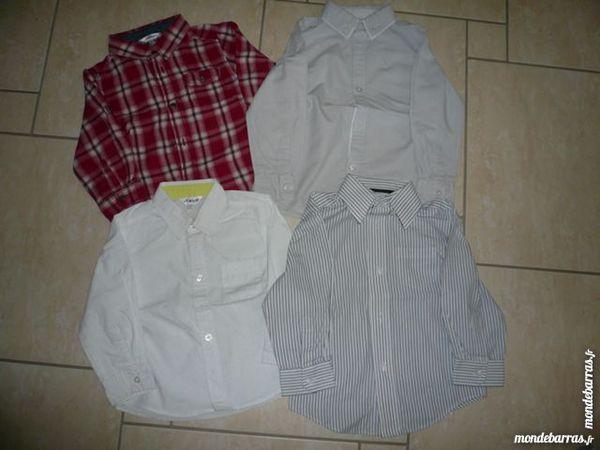 Chemises garçon 36 mois (n°8) 6 Franqueville-Saint-Pierre (76)
