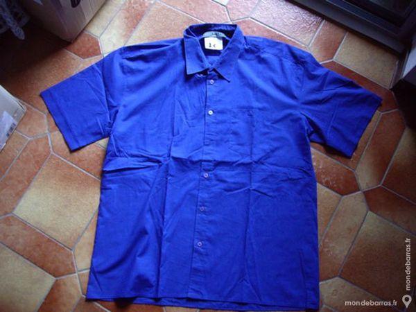 Chemises Homme m. courtes T45/46-T6 ou TXXL 1 Bouxwiller (67)