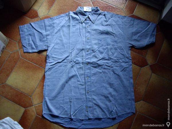 Chemises Homme manches courtes T39/40 ou T.3 1 Bouxwiller (67)