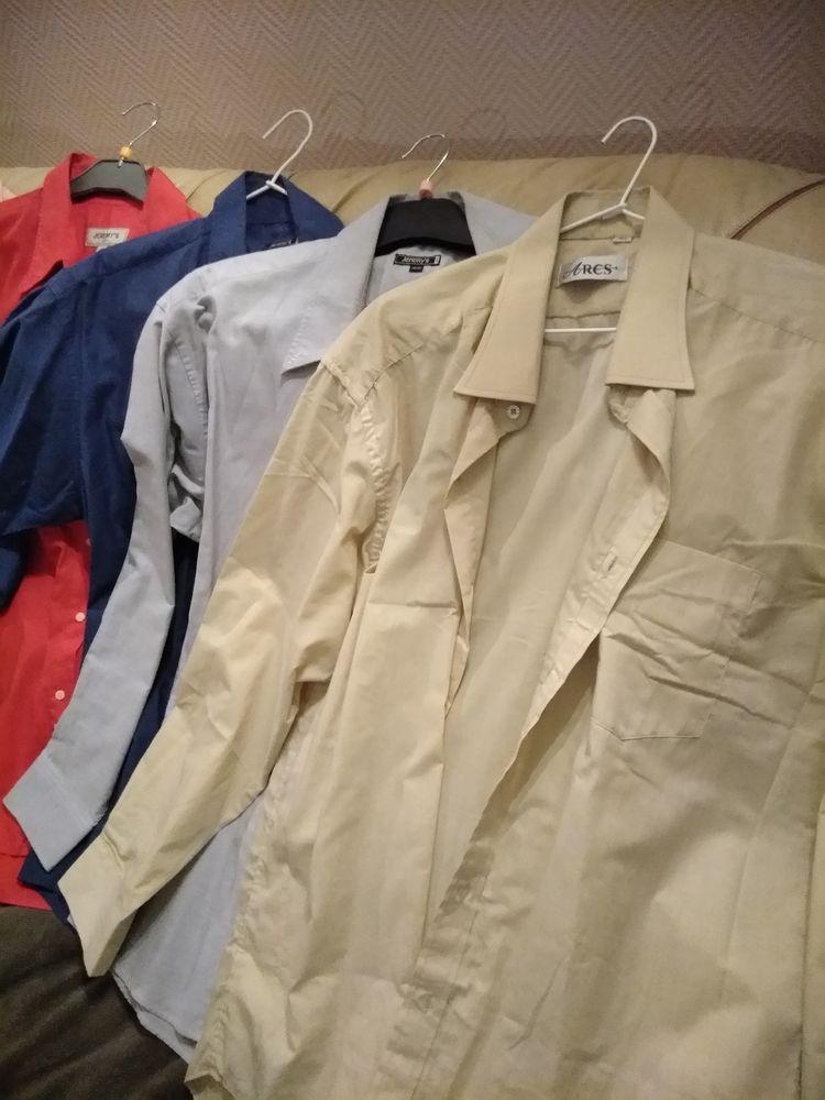 lot de 6 chemises homme 12 Froideconche (70)