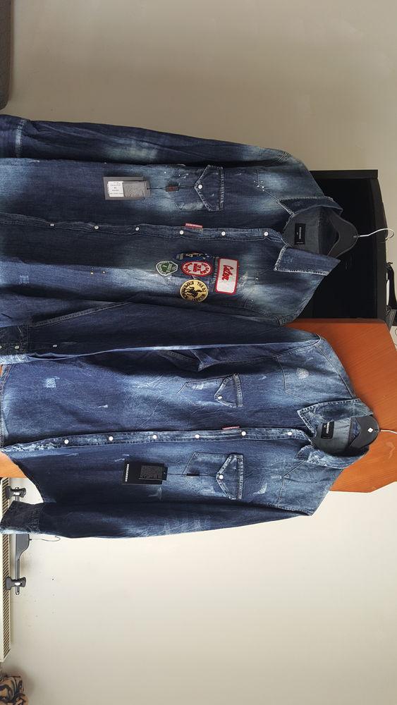 2 chemises Jean dsquared2 bleu neuve taille 54 et 52. 90 Villeurbanne (69)