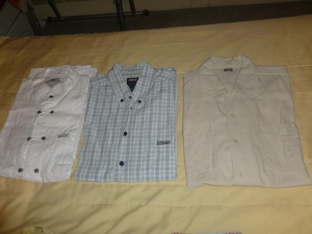 Chemises manches courtes  5 Thiais (94)