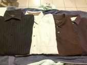 2 chemises + 2 polos de qualité, XL 25 Villemur-sur-Tarn (31)