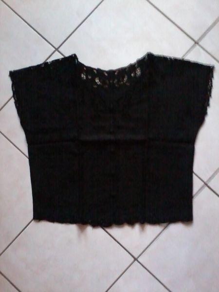 chemisier noir brodé 3 Gamaches (80)