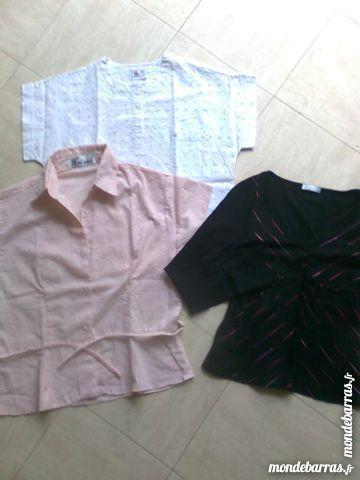 2 chemisiers L+ 1 tee shirt  M - zoe 2 Martigues (13)