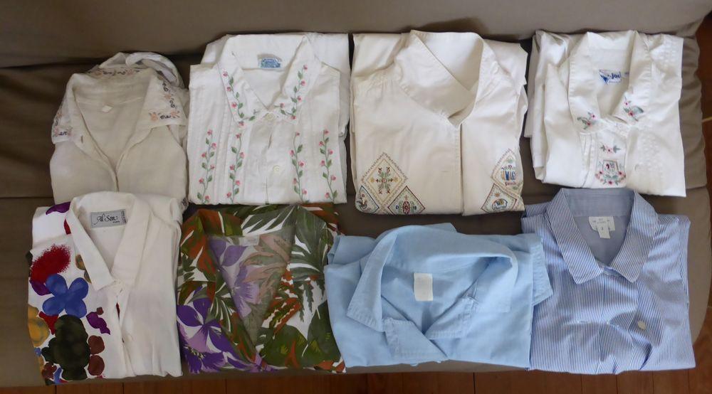 1 lot de 8 chemisiers T2 Vêtements