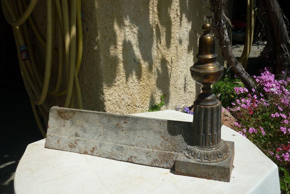 Chenets de cheminée 40 Melve (04)