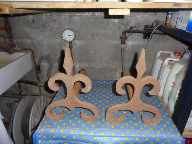 chenets pour cheminée  20 Gruchet-le-Valasse (76)