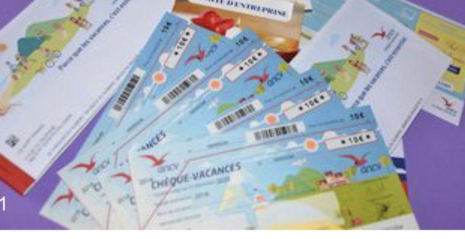 Chèque vacances  340 Levallois-Perret (92)