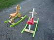 Cheval à bascule en bois/Janod Jeux / jouets
