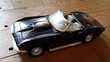 Chevrolet Corvette 1967 noire MotorMax 1:24