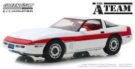 Chevrolet Corvette C4   Agence tous risques   au 1/18 85 Pont-Sainte-Marie (10)