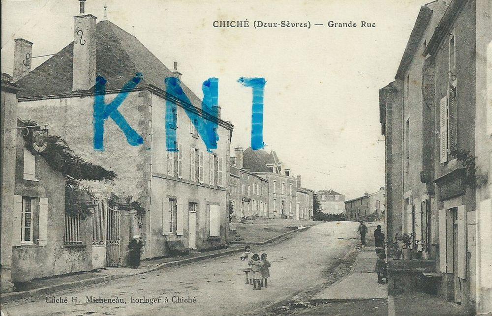 79 , chiché grande rue 1915