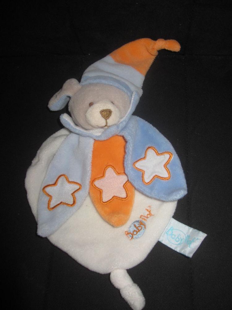 Chien babynat étoiles orange bleu 15 Saint-Jean-Pla-de-Corts (66)